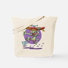 Surfin' Stu Tote Bag
