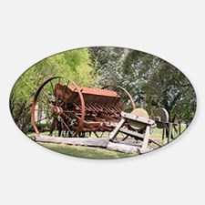 Unique Farm boys Sticker (Oval)
