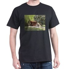 Old farm machinery, Victoria, Australia T-Shirt