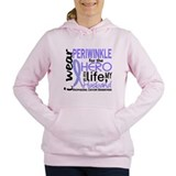 Esophageal cancer awareness Hooded Sweatshirt