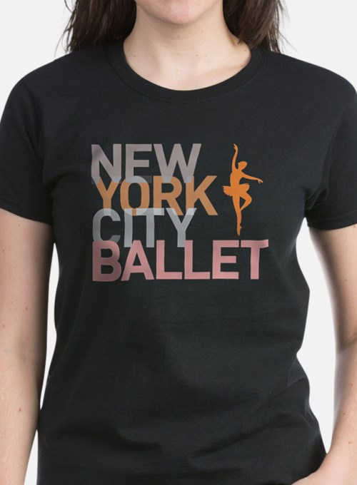 New york city ballet t shirts shirts tees custom new for Nyc custom t shirts