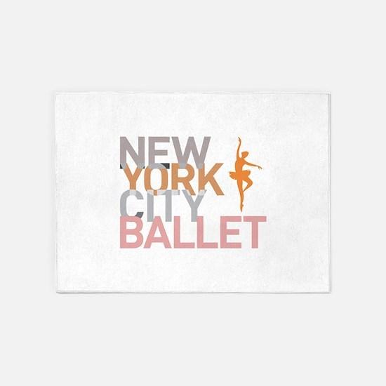 Ballet 5'x7'Area Rug
