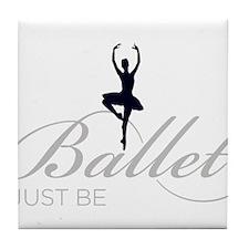 ballet Tile Coaster