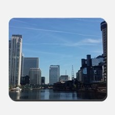 London, Canary Wharf Mousepad