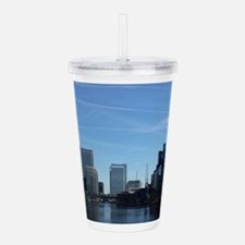 London, Canary Wharf Acrylic Double-wall Tumbler