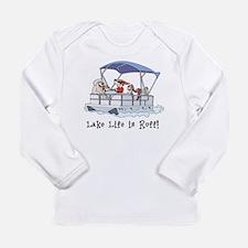 Cute Lake Long Sleeve Infant T-Shirt