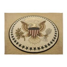 Presidential Seal 5'x7'area Rug