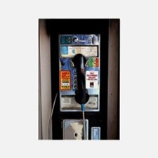 Cute Public telephone Rectangle Magnet