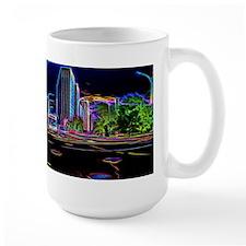 Blazing Neons Chicago Lincoln Avenue Mugs