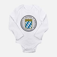 Cute Bavaria Long Sleeve Infant Bodysuit
