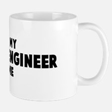 Computer Engineer costume Mug