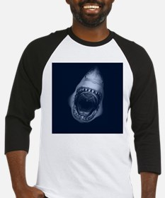 Big Shark Jaws Baseball Jersey
