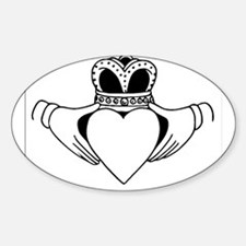 Claddagh Decal