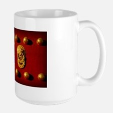 Temple of Heaven Red China Mugs