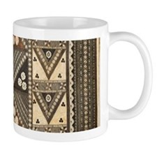 Fiji Wedding Tapa Masi Mugs