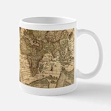 Ancient Map Mugs