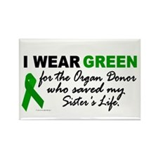 I Wear Green 2 (Saved My Sister's Life) Rectangle