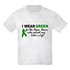 I Wear Green 2 (Saved My Sister's Life) T-Shirt