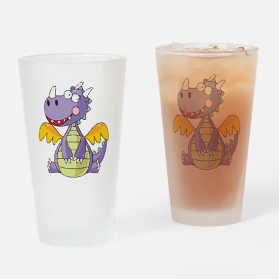 Cute Ancient animals Drinking Glass