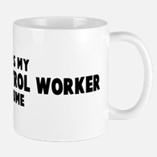 Animal Control Worker costume Mug