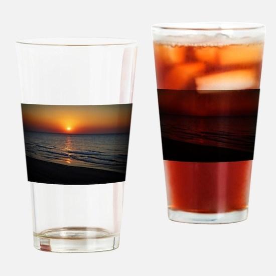 Bat Yam Beach Drinking Glass