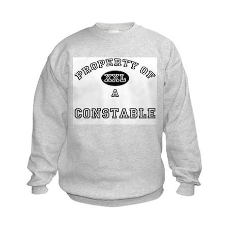 Property of a Constable Kids Sweatshirt