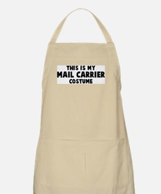 Mail Carrier costume BBQ Apron