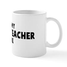 Anatomy Teacher costume Mug