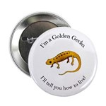 Golden Gecko Button