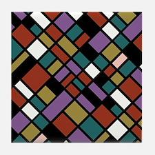 JEWEL TONES Tile Coaster
