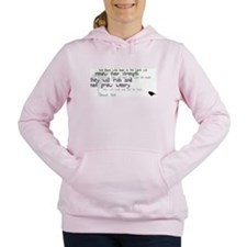 Cute The bible Women's Hooded Sweatshirt