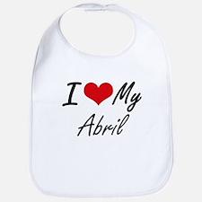I love my Abril Bib