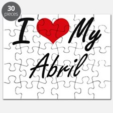 I love my Abril Puzzle