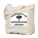 Property of a Conservation Adviser Tote Bag