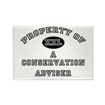 Property of a Conservation Adviser Rectangle Magne