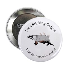 Stinking Badger Button