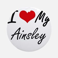 I love my Ainsley Round Ornament