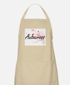 Autocross Artistic Design with Hearts Apron