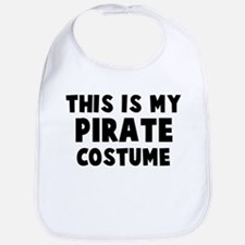 Pirate costume Bib