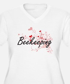Beekeeping Artistic Design with Plus Size T-Shirt