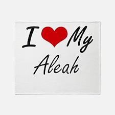 I love my Aleah Throw Blanket