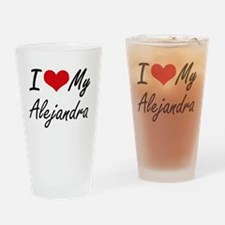 I love my Alejandra Drinking Glass