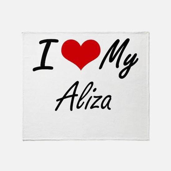 I love my Aliza Throw Blanket