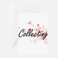 Collecting Artistic Design with Hea Greeting Cards