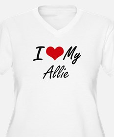 I love my Allie Plus Size T-Shirt