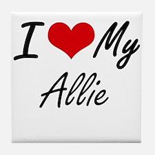 I love my Allie Tile Coaster