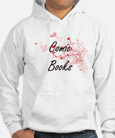 Comic Books Artistic Design with Hoodie