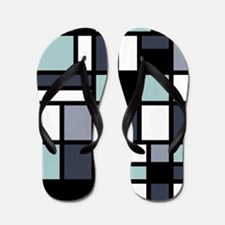 SHADES OF BLUE Flip Flops