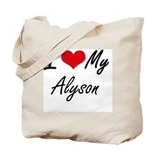 Unique Alyson Tote Bag