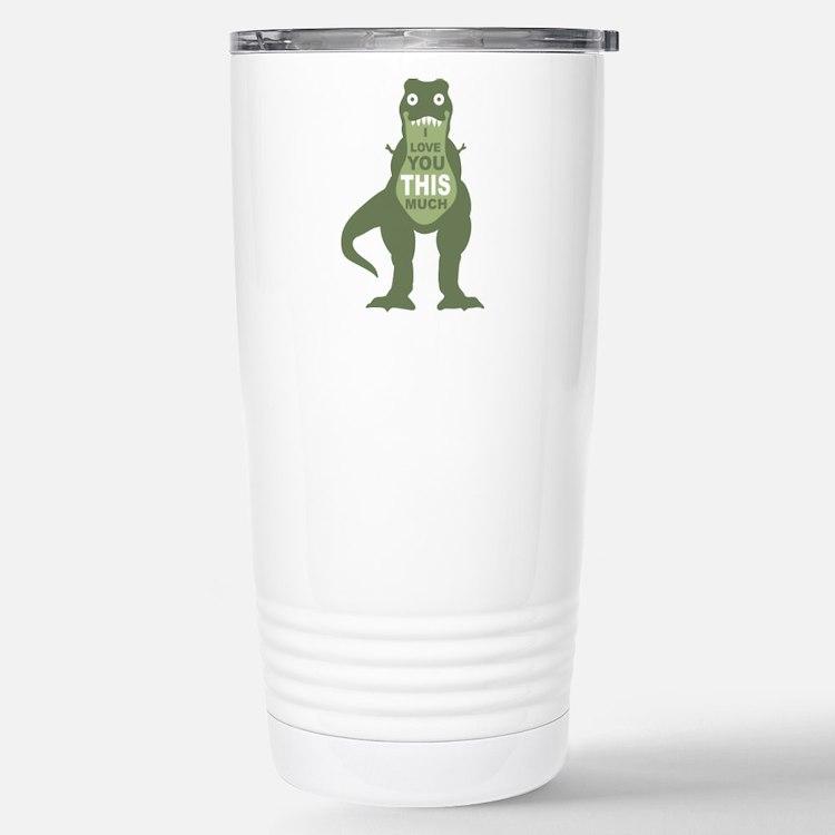 Cute Rex Travel Mug
